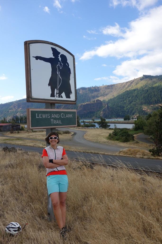 Die ersten 1500 km folgen wir den Spuren Lewis und Clarks