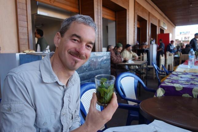 Der erste thé à la menthe in einer langen Reihe