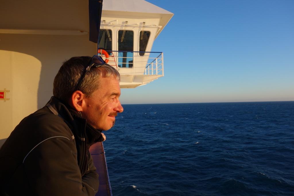 Auf der Fähre nach Patras: an der Schwelle zum Morgenland