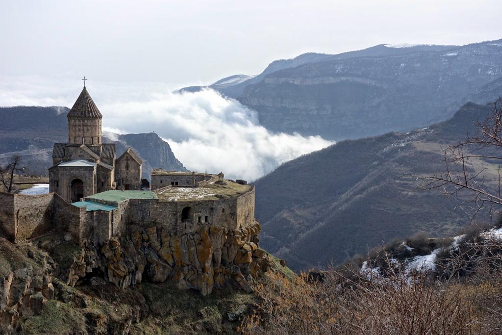 Kloster Tatev, UNESCO Weltkulturerbe.