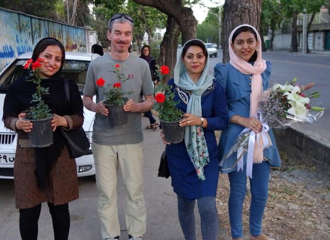 Wir waren zur Rosenblüte in Shiraz!