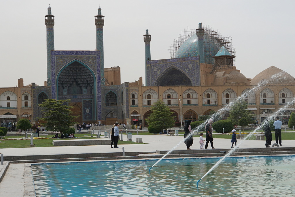 Der Imam-Platz in Isfahan.